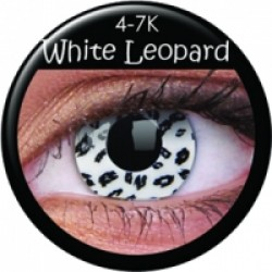 CRAZY WHITE LEOPARD