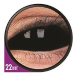 Fashion Lentilles Black sclera 22 mm